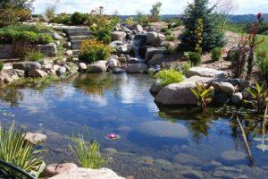 kerti tó levegőztető